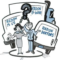 selecting a radon mitigator